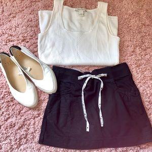 Casual Black Skirt